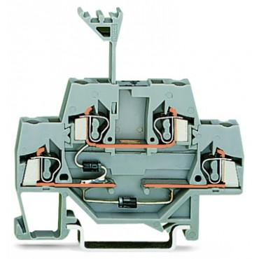 Złączka dwupiętrowa diodowa 2,5mm2 280-941/281-492