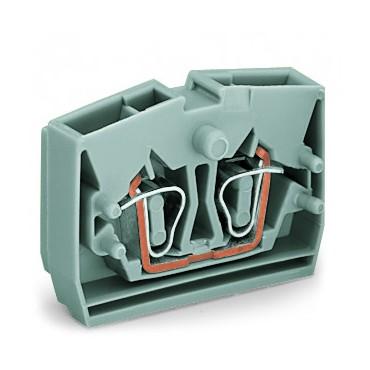 Złączka 2-przewodowa wewnętrzna 2,5mm2 szara 264-321