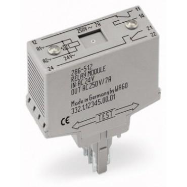Moduł przekaźnikowy 20mm 220V DC 2p 286-316