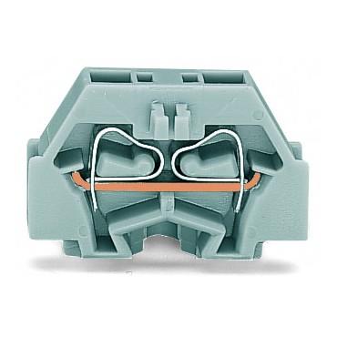 Złączka 2-przewodowa 1,5mm2 5mm szara z mocowaniem śrubowym 260-301 /50szt./