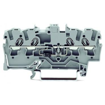 Złączka 4-przewodowa 1,5mm2 diodowa szara TOPJOBS 2001-1411/1000-411