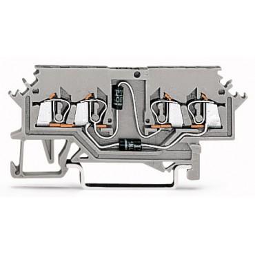 Złączka diodowa 4-przewodowa 1,5mm2 279-620/281-408