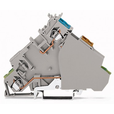 Złączka do czujników zasilająca z PE 2,5mm2 280-577