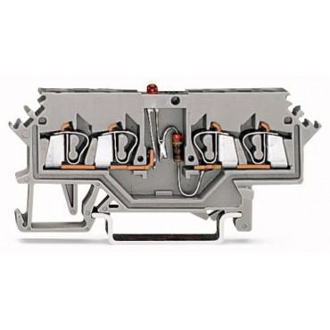 Złączka diodowa 4-przewodowa 2,5mm2 280-624/281-413