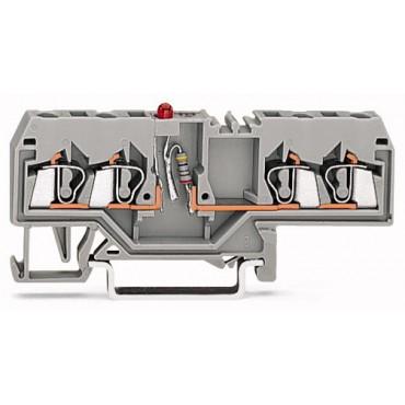 Złączka diodowa 4-przewodowa 2,5mm2 280-658/281-413