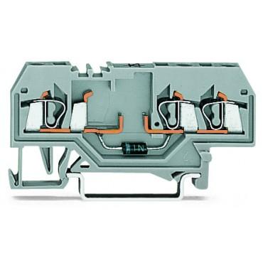 Złączka diodowa 3-przewodowa 2,5mm2 dioda N 4007 280-673/281-411