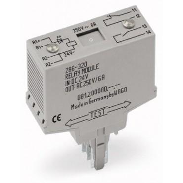 Moduł przekaźnikowy 20mm 24V DC 1r 286-320