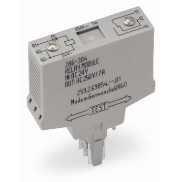 Moduł przekaźnikowy 15mm 230V AC/DC 1p 286-508