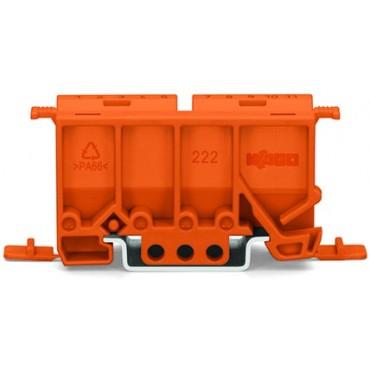 Adapter montażowy pomarańczowy DIN 35mm 222-500 /10szt./