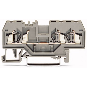 Złączka szynowa 3-przewodowa 2,5mm2 szara 280-681
