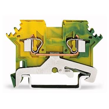 Złączka 2-przewodowa 2,5mm2 żółto-zielona 280-607