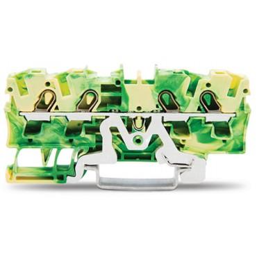 Złączka 4-przewodowa 4mm2 żółto-zielona 2004-1407 TOPJOBS