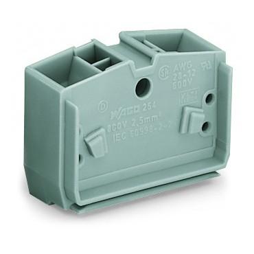 Złączka wewnętrzna 4-przewodowa 2,5mm2 szara 264-351