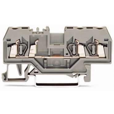 Złączka szynowa 3-przewodowa 2,5mm2 pomarańczowa 280-650