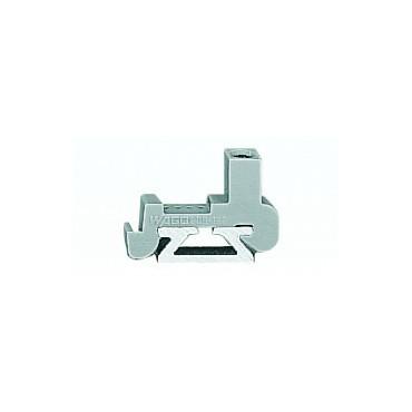 Blokada koncowa na szyne aluminiową 209-122 /25szt./