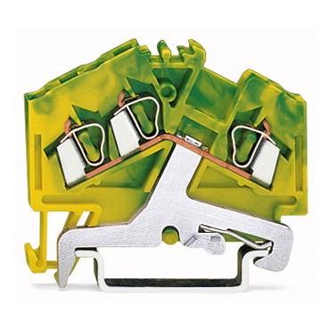 Złączka 3-przewodowa 2,5mm2 żółto-zielona 280-637