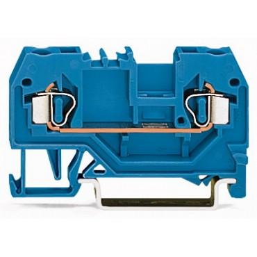 Złączka szynowa 2-przewodowa 2,5mm2 niebieska 280-904
