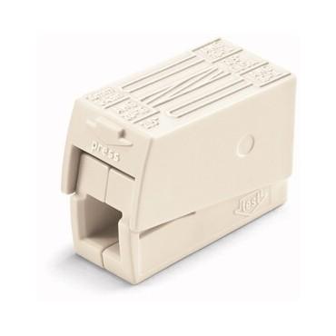 Szybkozłączka oświetleniowa 2x 1-2,5mm2 biała 224-112 /100szt./