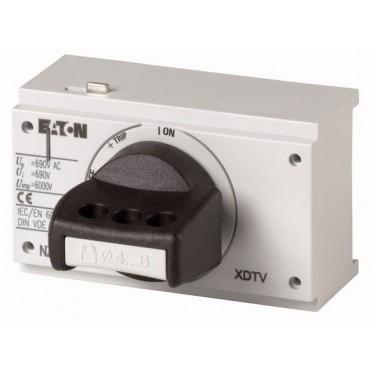 Napęd bezpośredni czarny z blokadą IP40 NZM2-XDTV 260133