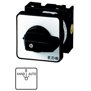 Łącznik krzywkowy HAND/AUTOMATIC 2P 20A do wbudowania T0-2-15432/E 034110