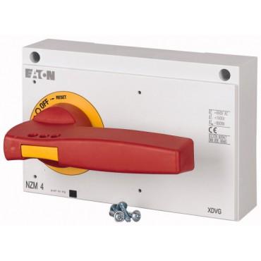 Napęd bezpośredni czerwono-żółty z blokadą NZM4-XDVR 266610