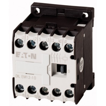 Stycznik mocy 12A 3P 230V AC 1Z 0R DILEM12-10(230V50HZ,240V60HZ) 127075