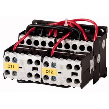 Stycznik nawrotny 9A 4kW AC-3 24V DC 2Z 0R DIULEM/21/MV-G(24VDC) 214655