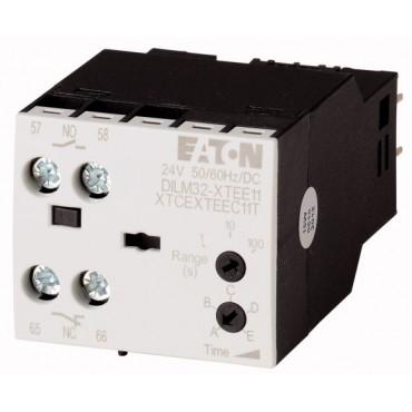 Elektroniczny moduł czasowy gwiazda-trójkąt 1-30sek 1Z 1R 24V AC/DC DILM32-XTEY20(RA24) 101446