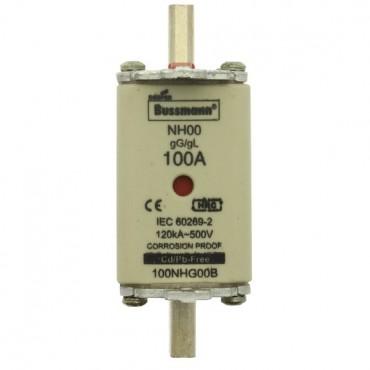 Wkładka bezpiecznikowa NH00 100A gL/gG 500V 100NHG00B