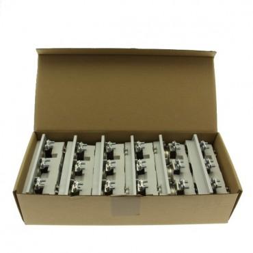 Podstawa bezpiecznikowa DII E27 3P szyna DIN TFRD33