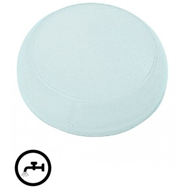 Soczewka lampki 22mm płaska biała z opisem M22-XST-* 218401