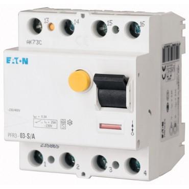 Przekaźnik różnicowoprądowy 0,3A typ S/A PFR3-03-S/A 235865