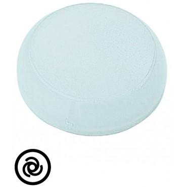Soczewka lampki 22mm płaska biała z symbolem /WIROWANIE/ M22-XL-W-X10 218393