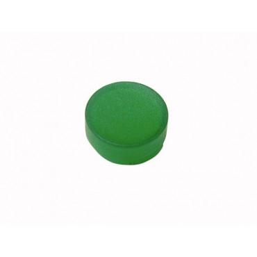Soczewka przycisku 22mm wystająca zielona M22-XDLH-G 216449