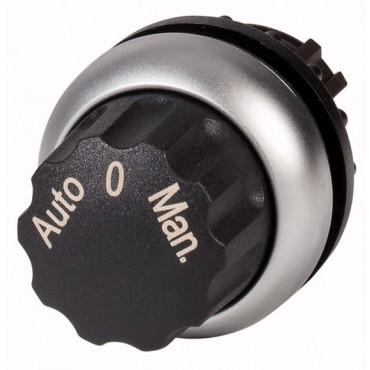 Napęd przełącznika 3 położeniowy czarny bez samopowrotu M22-WR3-X94 226838