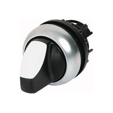Napęd przełącznika 2 położeniowy biały z podświetleniem bez samopowrotu M22-WRLK-W 216823