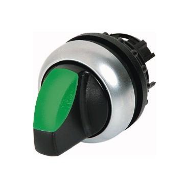 Napęd przełącznika 3 położeniowy zielony z podświetleniem z samopowrotem M22-WLK3-G 216837