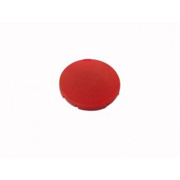 Wkładka przycisku 22mm płaska czerwona bez opisu M22-XD-R 216423