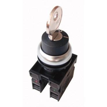 Przycisk sterowniczy 22mm czarny 1Z 1R M22-WRS/K11 216517
