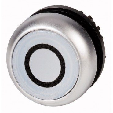 Napęd przycisku biały z podświetleniem z samopowrotem M22-DL-W 216922