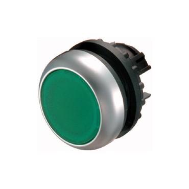 Napęd przycisku zielony z podświetleniem bez samopowrotu M22-DRL-G 216948