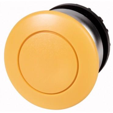 Napęd przycisku grzybkowego żółty z samopowrotem M22-DP-Y 216718