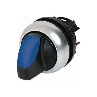 Napęd przełącznika 2 położeniowy niebieski z podświetleniem bez samopowrotu M22-WRLK-B 216831