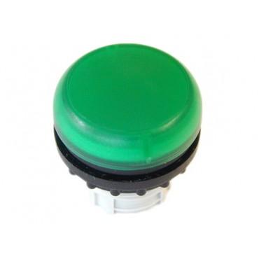 Główka lampki sygnalizacyjnej 22mm zielona M22-L-G 216773