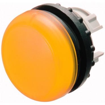Główka lampki sygnalizacyjnej 22mm żółta M22-L-Y 216774