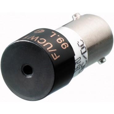 Brzęczyk BA9s 18-30V DC sygnał przerywany M22-XAMP 229028