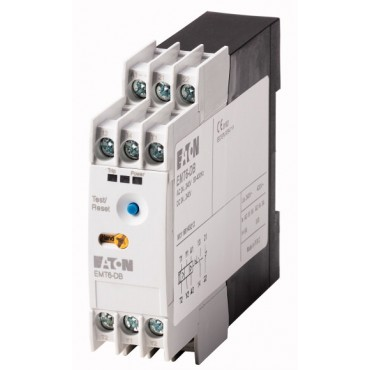 Zabezpieczenie termistorowe 6xPT 230V AC z blokadą, restartem zdalnym i lokalnym, TEST EMT6-DB(230V) 066401