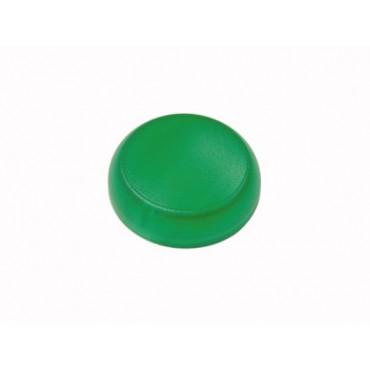 Soczewka lampki 22mm płaska bez opisu zielona M22-XL-G 216455