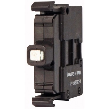 Oprawka z LED niebieska 230V AC M22-LED230-B 218059