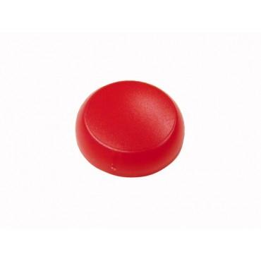 Soczewka lampki 22mm płaska czerwona M22-XL-R 216454